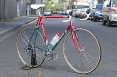 Restored 1989 Eddy Merckx Team 7-Eleven