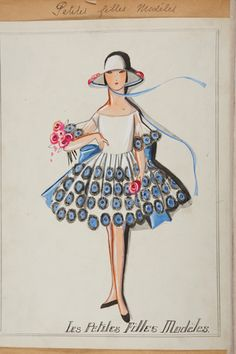 Vintage Lanvin Illustrations — Everything You Hoped They Would Be,