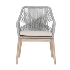 I just really dig this chair!  Thought you would too!  Colors are right adds interest.