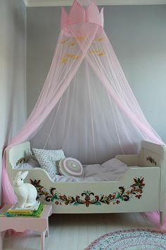 kids room for your princess! #cute #kidsroom #nursery