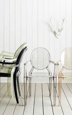 urbnite:  Louis Ghost Chair by Philippe Starck for Kartell