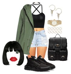 Untitled #2206 by mrkr-lawson on Polyvore featuring polyvore fashion style Mr & Mrs Italy Sole Society DKNY ASOS Humble Chic NIKE Smashbox clothing
