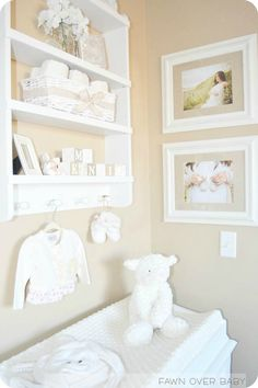 A Heavenly Baby's Room - Small Touches