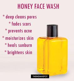 Looking for an organic way to make your skin beautiful? Use honey as your daily cleanser for clear, healthy skin. Honey is a great natural skin care product and works extremely well on all skin types as a cleanser, moisturiser and face mask to give you Homemade Skin Care, Homemade Face Wash, Homemade Face Cleanser, Homemade Moisturizer, Hygiene, Skin So Soft, Anti Aging Skin Care, Organic Skin Care, Healthy Skin