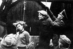 Germans are hanging 2 teenagers for helping captured Soviet soldiers. This is so messed up!