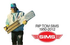 """Past - Influence - Tom Sims produced his first snowboards in 1977. Beeing obsessed with skateboarding, Sims tried to go out in the snow and slide down the hill with a """"snowboard"""" he built in a junior high shop-class. He just glued some carpet to the top of a piece of wood, and put an aluminium sheeting on the bottom. (snowboardmag, 2012)"""