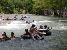 River Sports Tubes: Guadalupe River Tubing
