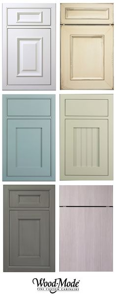 kitchen cabinet door fronts by Wood-Mode                                                                                                                                                      More