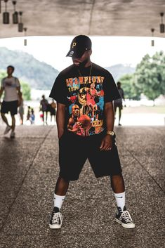 17762 best men's streetwear images in 2019 Streetwear Mode, Streetwear Fashion, Streetwear Clothing, Streetwear Summer, Mode Outfits, Trendy Outfits, Fresh Outfits, Summer Outfits, Men Street
