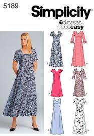 Resultado de imagen para simplicity summer dress patterns
