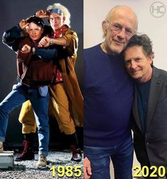 Christopher Lloyd and Michael J. Fox Reunited After 35 Years Of 'Back to the Future' Movie Duos, Movie Tv, Iconic Movies, Good Movies, Amazing Movies, Michael J Fox, Celebrities Then And Now, Old Movie Stars, Back To The Future