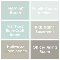 Seaside Interiors: The Paint Colors of My House
