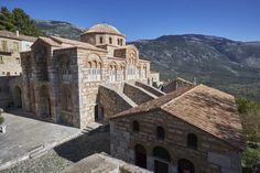 Kloster von Osios Loukas, Arachova, Delphi.
