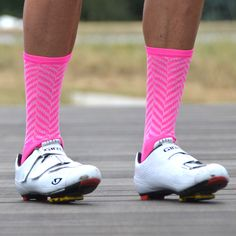 Panache Herringbone Performance Socks  – Fuchsia
