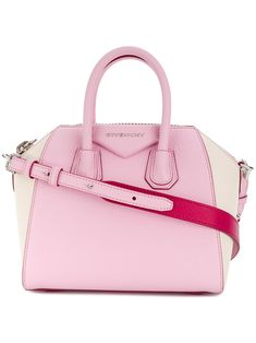 91693e0d7072 Givenchy s timelessly classic Antigona tote is presented in light pink  leather. Made in Italy