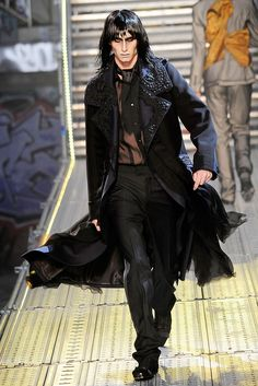 John Galliano | Spring 2010 Menswear Collection | Style.com