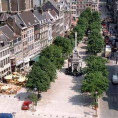 """Liège - """"le Perron, place de la Violette"""""""
