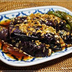 揚げナスの南蛮漬け | レシピブログ Home Recipes, Asian Recipes, Dinner Recipes, Cooking Recipes, Ethnic Recipes, Japanese Dishes, Japanese Food, Food Menu, Healthy Cooking
