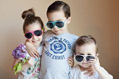 Siblings. Kids. Sunglasses. Bethany F Photography