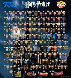 Harry Potter Display, Harry Potter Pop, Harry Potter Items, Harry Potter Bedroom, Harry Potter Decor, Harry Potter Images, Harry Potter Tumblr, Harry Potter Jokes, Harry Potter Characters