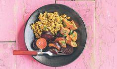 Laura Prepon's No-Fuss Dinner From Her New Cookbook, The Stash Plan - mindbodygreen.com