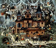 charles wysocki halloween - Google Search