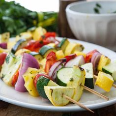 Fruit and Vegetable Kabob Recipe   Reynolds Kitchens