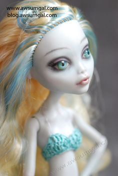 Pia ooak MH Repaint by awsumgal by awsumgal-Lux on deviantART
