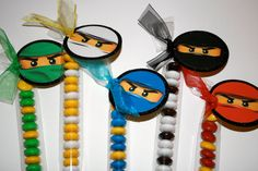 ninjago party favor by POPSnMORE on Etsy, $1.45