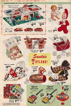 Old Advertisements, Retro Advertising, Retro Ads, Christmas Catalogs, Christmas Scenes, Retro Christmas, Xmas, Vintage Christmas Images, Vintage Christmas Ornaments