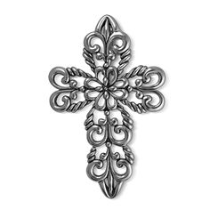 Carolyn Pollack Jewelry | Spanish Lace Filigree Cross Pendant Enhancer