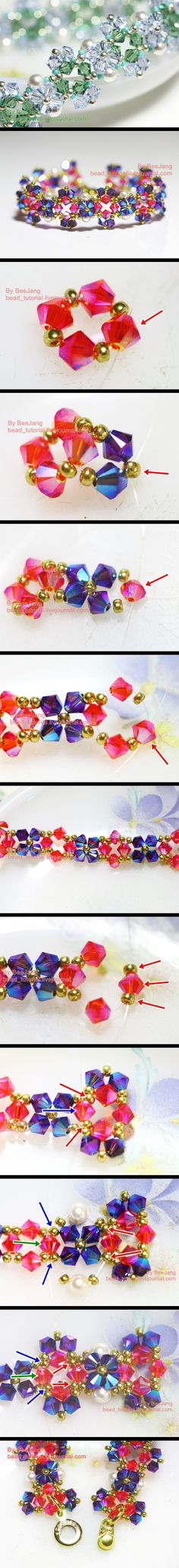 Crystal Bracelet Tutorial