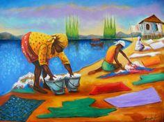 Nosso  Feminino Sagrado:         As lavadeiras    Nós lavamos a alma dos qu...