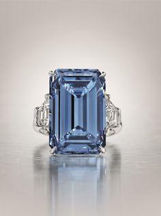 the legendary Oppenheimer Blue Diamond-jewelry-collection Colored Diamond Rings, Diamond Gemstone, Colored Diamonds, Blue Diamond Jewelry, Uncut Diamond, Jewelry Rings, Fine Jewelry, Jewlery, Ruby Jewelry