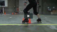 Cris demonstrates a line transition.