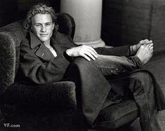 Bruce Weber photo of Heath Ledger