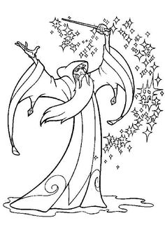 The Magic Sword: Quest for Camelot Coloring pages for kids. Printable. Online Coloring. 20