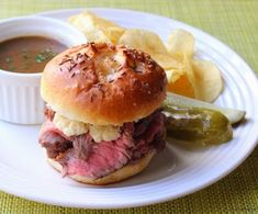 """Welcome to the first of a two-part series on one of this country's most delicious unknown sandwiches, the """"Beef on Weck."""" This simple, but..."""