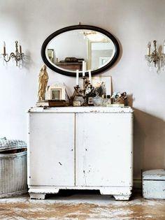 Antic&Chic. Decoración Vintage y Eco Chic: [Get the look] Cómo crear un tocador perfecto