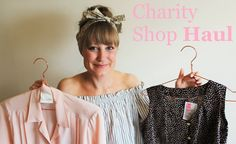 Charity Shop & Vintage Thrift Haul & Try-On July 2016 | Harriet Pattison