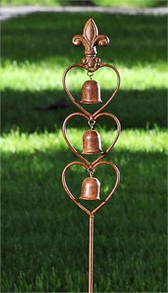 Giftcraft - Garden Stake, 3 Bells