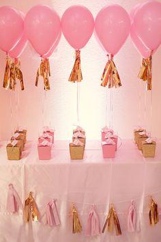 Hot air balloon theme - favors