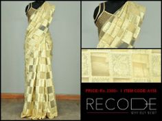 Summer Bling: The lightest saree we have ever seen!!  www.facebook.com/Fashion.Recode