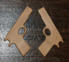 This listing is for a pair of toy model 1911 pistols. These are not rubber band guns, just pretend guns with imaginary bullets. These guns are made
