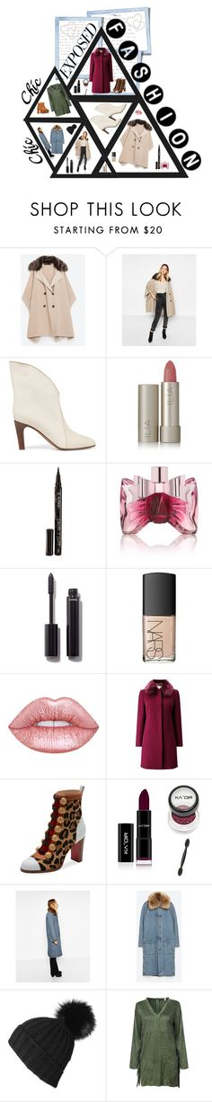 """""""Expose Yourself!"""" by chiqiyoly ❤ liked on Polyvore featuring Gola, Chloé, Ilia, Smith & Cult, Viktor & Rolf, Chanel, NARS Cosmetics, Jacques Vert, Christian Louboutin and Black"""