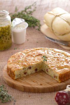 Hai mai assaggiato la #torta 7 vasetti? Qui ti proponiamo la nostra golosissima versione #salata! #Giallozafferano #recipe #ricetta #quiche #ehluca
