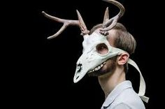 deer skull headdress - Google Search