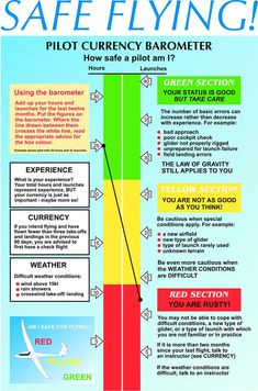 Pilot Currency Barometer - How safe a pilot are you?