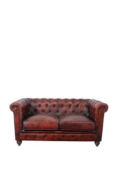 Chesterfield Loveseat French Roast