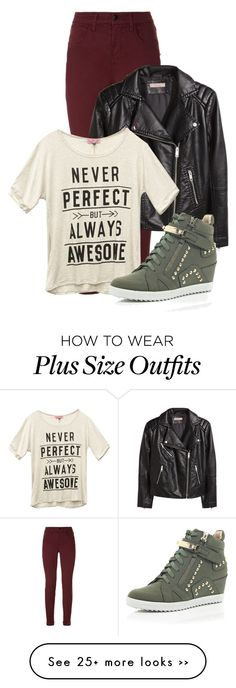 """""""Untitled #1201"""" by andreastoessel on Polyvore featuring J Brand, H&M, Wet Seal and River Island"""